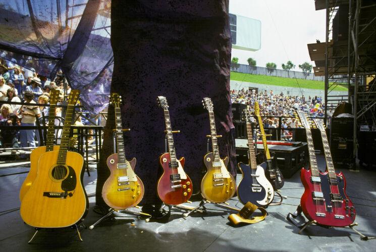 Led Zeppelin Guitars