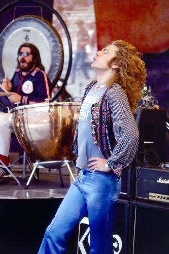 Robert Plant and John Bonham
