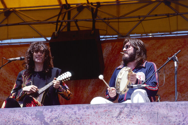 Jimmy Page and John Bonham