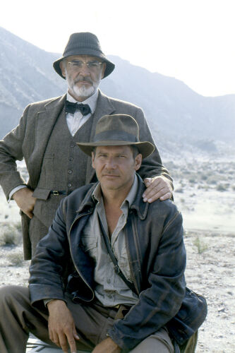 Harrison Ford & Sean Connery