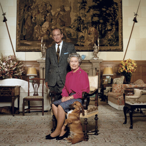 HM Queen Elisabeth II and HRH Prince Philip
